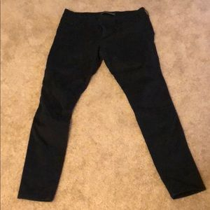 Black Extreme Stretch Legging pants from Express